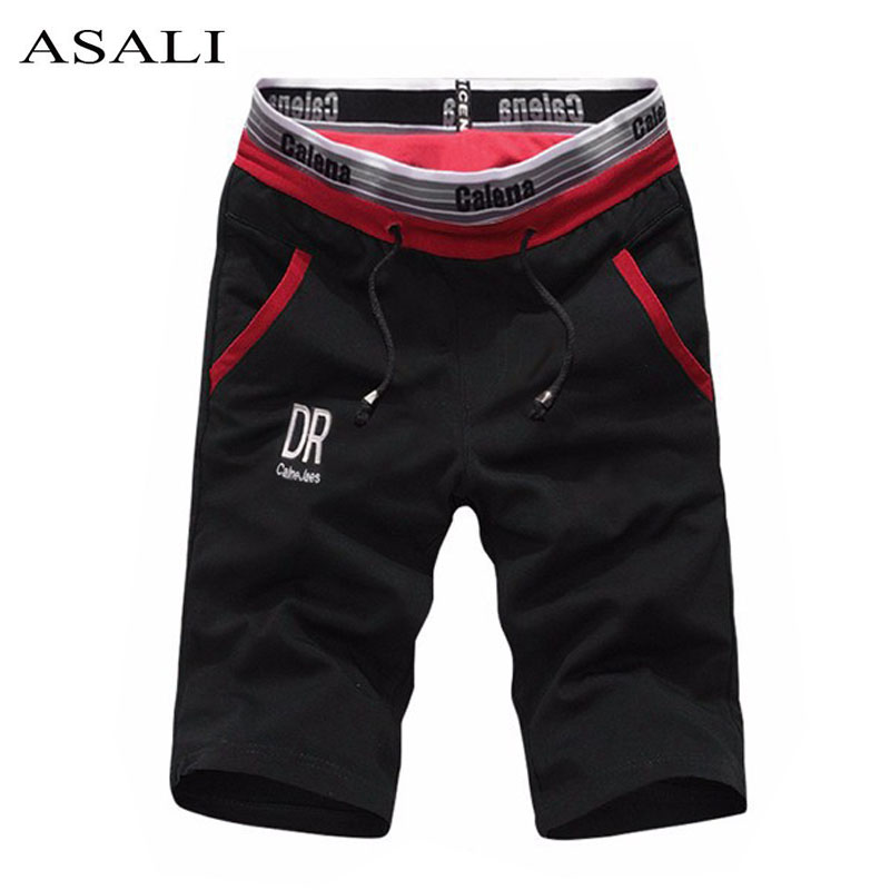 Meesterõivad Summer Beach lühikesed püksid Bermuda Masculina Leisure 5xl Moletom Masculino Cotton Stretch Quick Dry Shorts Men 2019