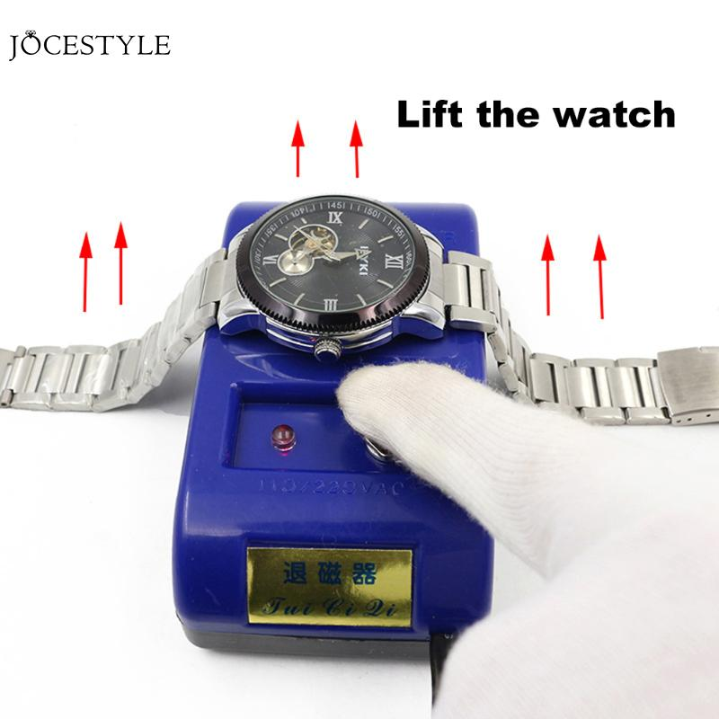 Professional Demagnetizer for Watch Tools Watch Repair Tool Electrical Demagnetize Watch Clock Tool Demagnetizer for WatchProfessional Demagnetizer for Watch Tools Watch Repair Tool Electrical Demagnetize Watch Clock Tool Demagnetizer for Watch