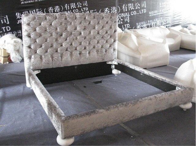 Designer moderno tessuto letto matrimoniale king size camera da ...