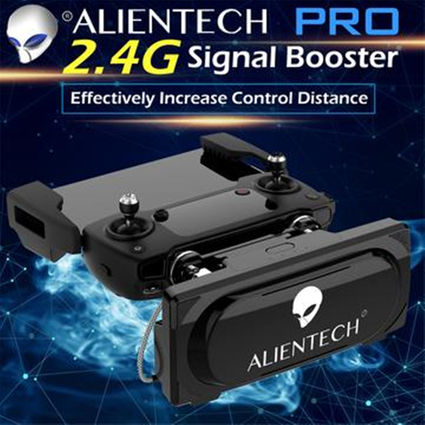 ALIENTECH PRO 2.4G SIGNAL BOOSTER FOR DJI DRONE MAVIC AIR Mavic 2 Pro/Mavic 2 Zoom RC Quadcopter With 4K HD Camera Drone квадрокоптер набор dji mavic pro 4k quadcopter бпла чёрный