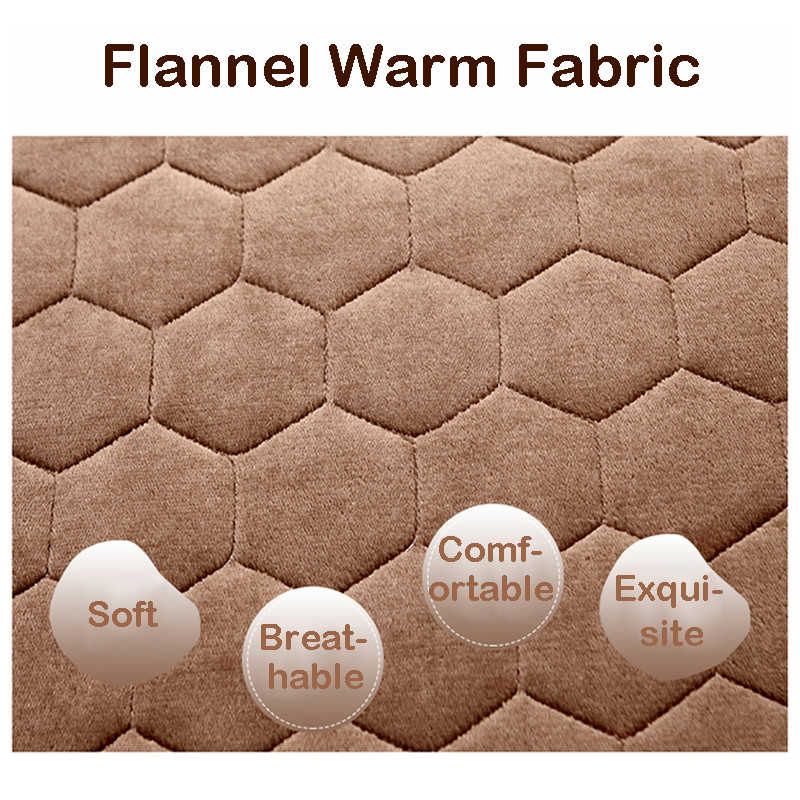 Infant Shining 5CM Thickness Mattress Flannel Breathable Bed Mat Student Dormitory Single Mattress Non-slip Tatame Bedroom Mat