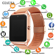 2019 Smart Watch GT08 Plus Metal Clock with Sim Card Slot Pu