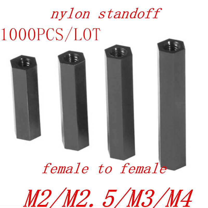 500-1000 шт., черная стойка M2 M2 M2.5 m3 M4