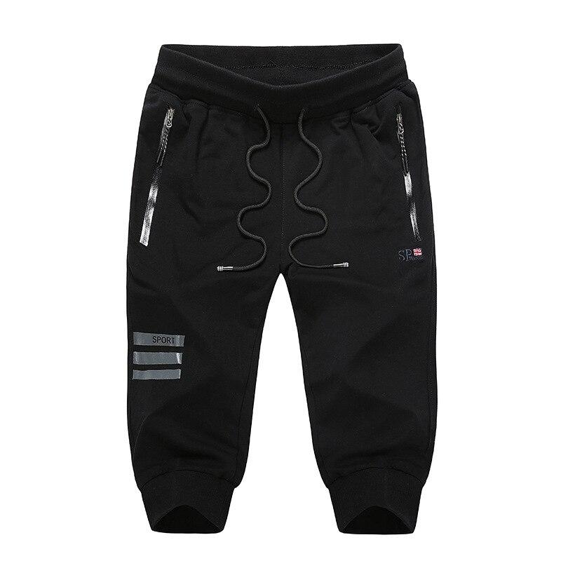 New 9XL Mens Casual Galf Length Pants summer Designer Solid Color Plus Size Slim Stretch Pant Men Loose Sweat Pants AFMT201