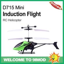 helicóptero RC LED D715-2