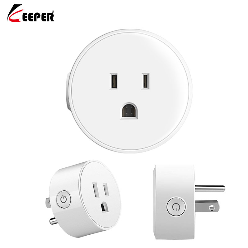 US Smart Plug,WiFi Remote Control With Alexa,Timing On/off The Power,Samrt Google Home Electric Mini Socket Drop Shipping
