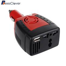 Автомобильный инвертор Adeeing 150 Вт, 12 В постоянного тока в переменный ток, 110 В, USB, 5 В, автомобильное зарядное устройство, адаптер для ноутбука, подходит для автомобилей 12 В, SUV, MVPr18