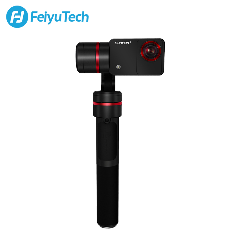FeiyuTech summon Plus с экшен-камера эры 3 оси ручной карданный бесщеточный Камера стабилизатор с 4k 1080P экшен-камера