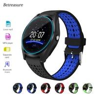 Betreasure HOT BW25 Bluetooth Smart Watch Clock Fitness Tracker SmartWatche With Camera SIM/TF Card Sleep Tracker Wristwatch