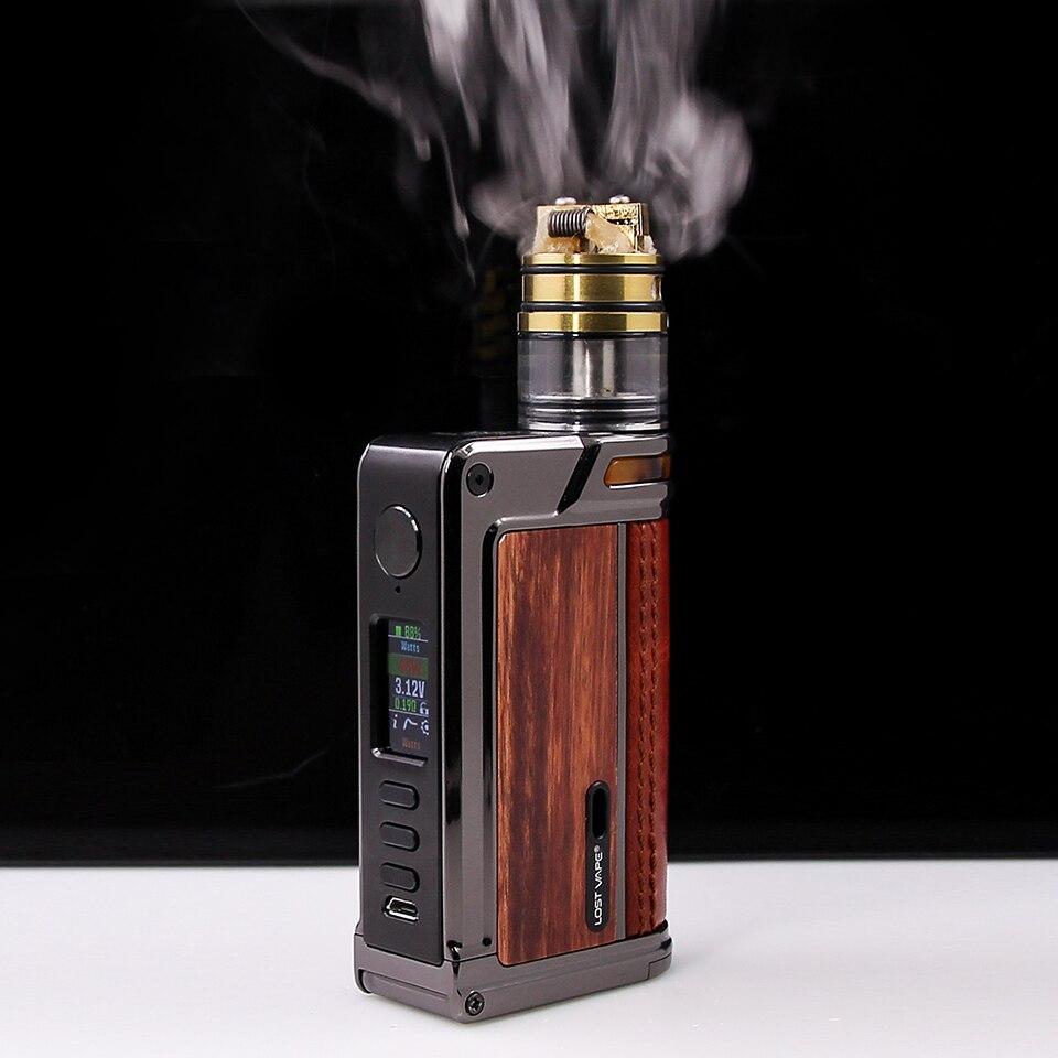 US $116 0 |Original Lost Vape Paranormal DNA75C Mod electronic cigarette  DNA vape mod fit 510 thread atomizer Dual 18650 lost vape 75W mod-in