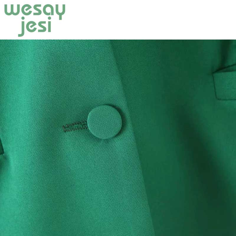 Vintage Office Ladies Single Breasted Women Blazer Full Sleeve casual Female Jacket 2019 Streetwear Pockets Suit Outwear in Blazers from Women 39 s Clothing