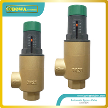DN15 automatic bypass valve  for wall mounted boiler system