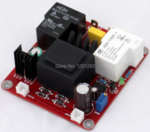 Image 3 - YJ finished amplifier  board New Version  Auto Class A delay soft start power protection board (110V or 220V)