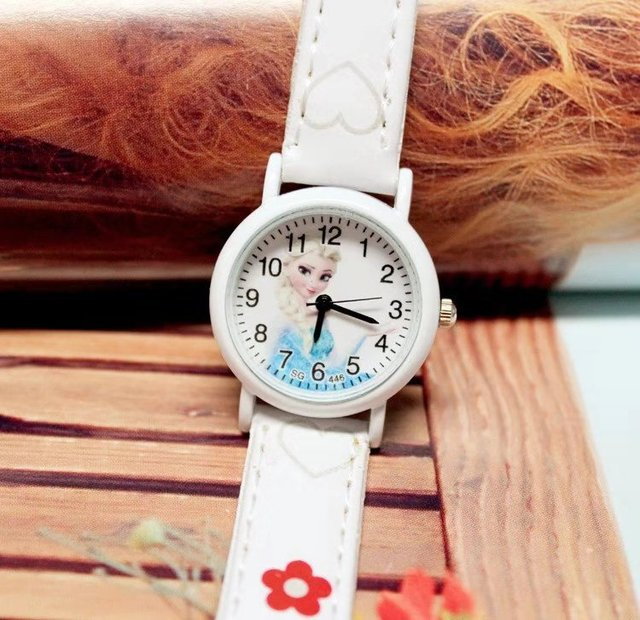 Elsa two girls quartz watch