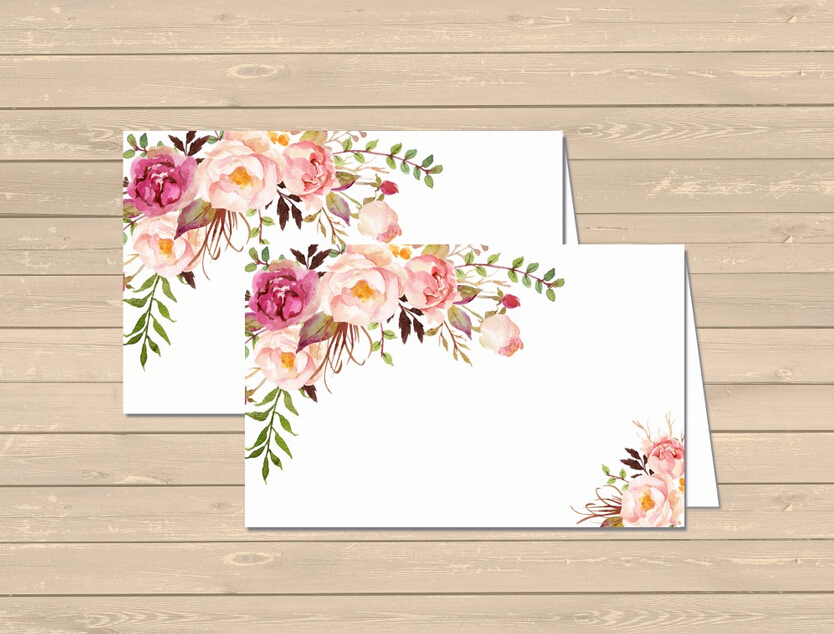 New arrival Personalized Wedding Thank You Card /Custom Baby Shower Save The Date Invitations Card Mini Table  Place Card 28 agina okello bonaventure michael management