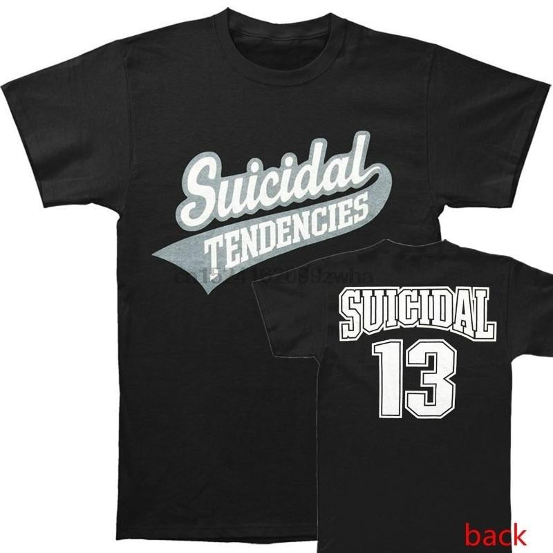 Men's Summer   T     Shirt   Suicidal Tendencies 13 Logo Men's Casual   Shirt   Women   T     Shirt   Novelty O-neck Tops