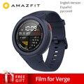 Глобальная версия Xiao mi Hua mi AMAZFIT Verge 3 gps Смарт-часы IP68 AMOLED экран ответ на звонки умные часы Мульти Спорт для mi 8