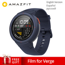 Global Version Xiaomi Huami AMAZFIT Verge 3 GPS Smart Watch IP68 AMOLED Screen Answer Calls Smartwatch Multi Sports for MI MI8(China)