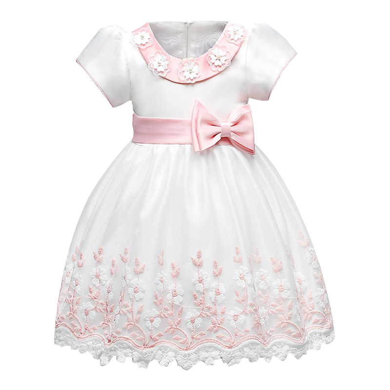 Baby Dresses For Girl Infant Party Wear Baby Girl 1st Birthday Outfits Newborn Bebes Christening Gowns Toddler Baptism Clothes