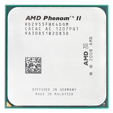 Amd fenom ii x4 955x4 955/3. soquete am3/938-pin processador, 2ghz/l3 = 6mb/quad-core