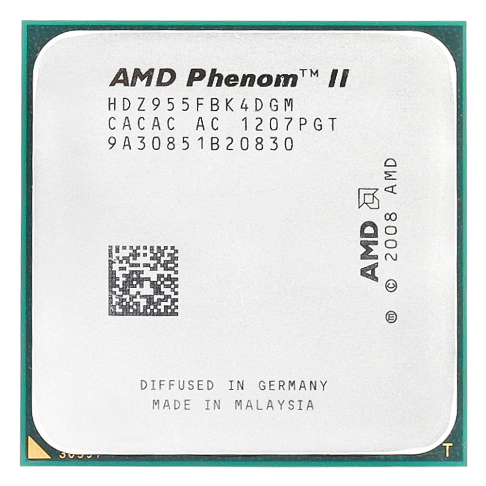 AMD Phenom II X4 955 x4 955/3.2Ghz/L3=6MB/Quad-Core Processor Socket AM3/938-pin image