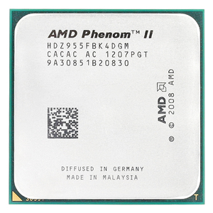 Amd phenom ii x4 955x4 955/3. 2 ghz/l3 = 6 mb/quad-core processador soquete am3/938-pin