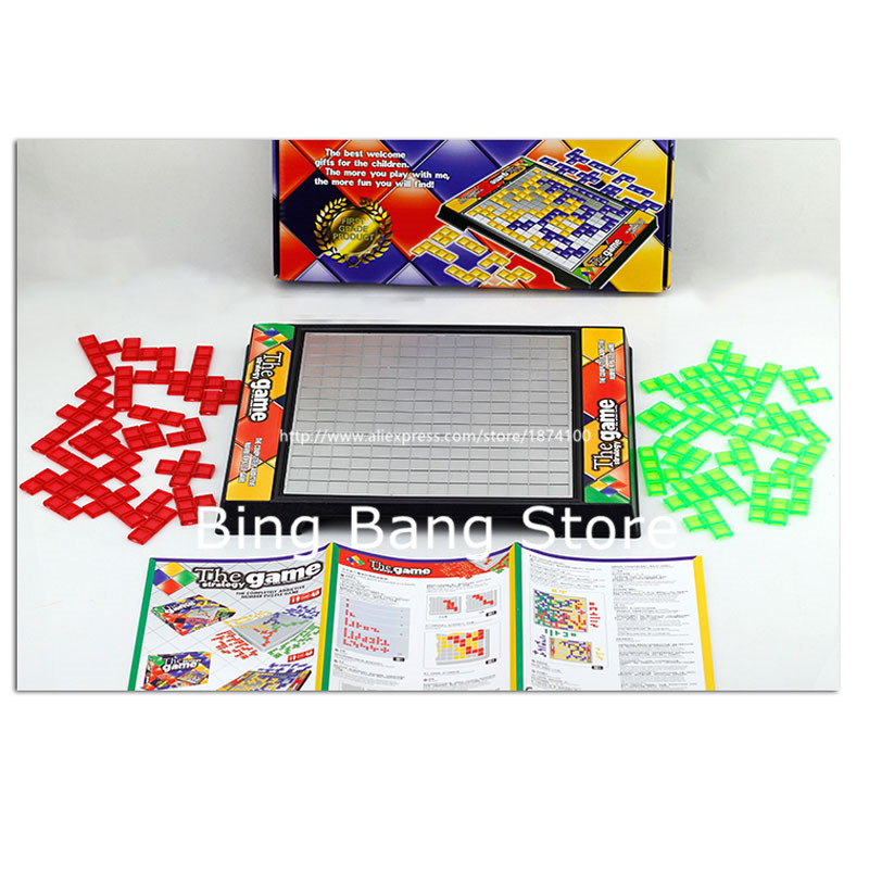 Tetris Game 2 Person Play 42 Pcs Chessman Educational Strategy Game Parenting Eross Good Gift Kid Christmas Whole Family