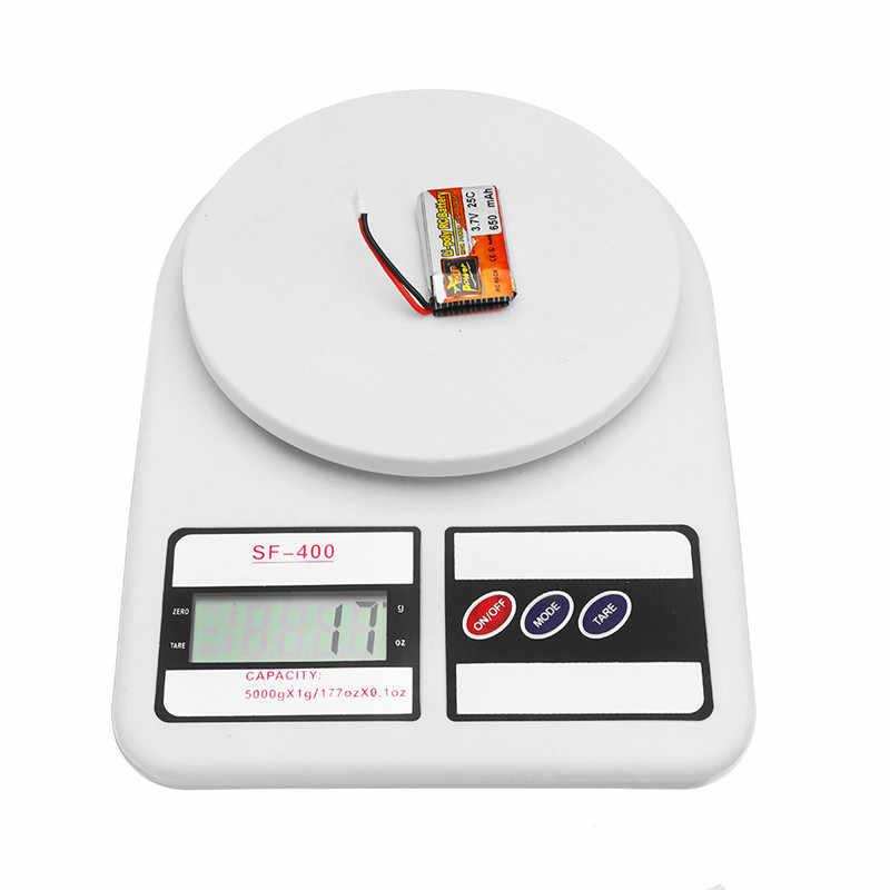 4 pièces ZOP PUISSANCE 3.7 V 650 mAh 25C 1 S Batterie Lipo Rechargeable Connecteur JST Avec Chargeur Pour Les Modèles RC