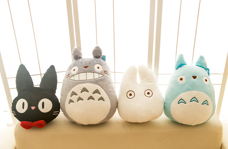 Cute Kawaii Totoro Anime Led Colorful Plush Pillow : Online Buy Wholesale totoro plush pillow from China totoro plush pillow Wholesalers Aliexpress.com
