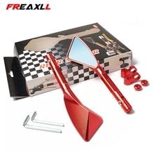 Universal Motorcycle Mirror Side Rearview Accessories FOR HONDA CB400 VTEC400 CB-1 VTR250 MSX125 CB500 CB600 CB750