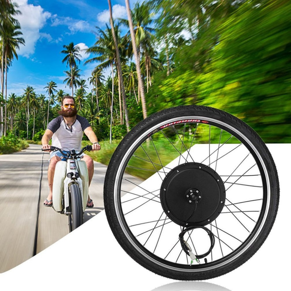 Newest Brushless Hub Motor Rear Wheel Electric Bicycle Motor E Bike Conversion Kit 36V 250W 26 Inch Electric Bike Kit