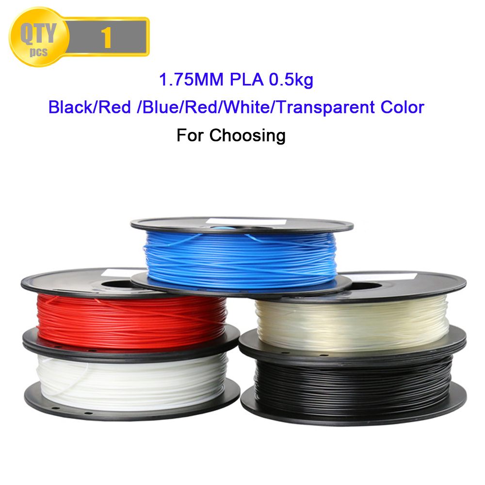 Anet Top Qualité Marque 3D Imprimante Filament 1.75 1 KG PLA ABS bois TPU PetG PP PC En Plastique Filament Matériaux pour RepRap i3 imprimante