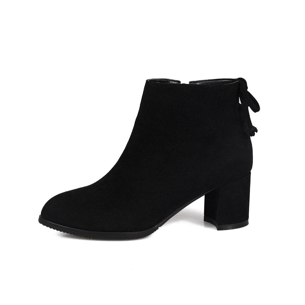 34 Al Desgaste De Nueva 2018 Botas Zurriago Cortas Zapatos Tamaño 43 Señaló Moda 100 naranja Suelas Resistentes Mujer Negro Martin 1g8xaw
