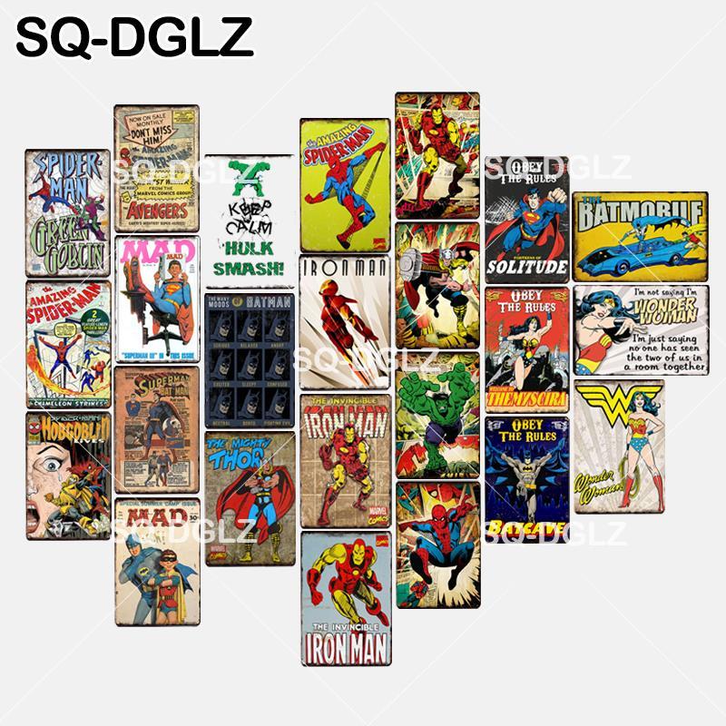 Big Deal Sq Dglz Yeni Süper Kahraman Tabela Amerikan Karikatür