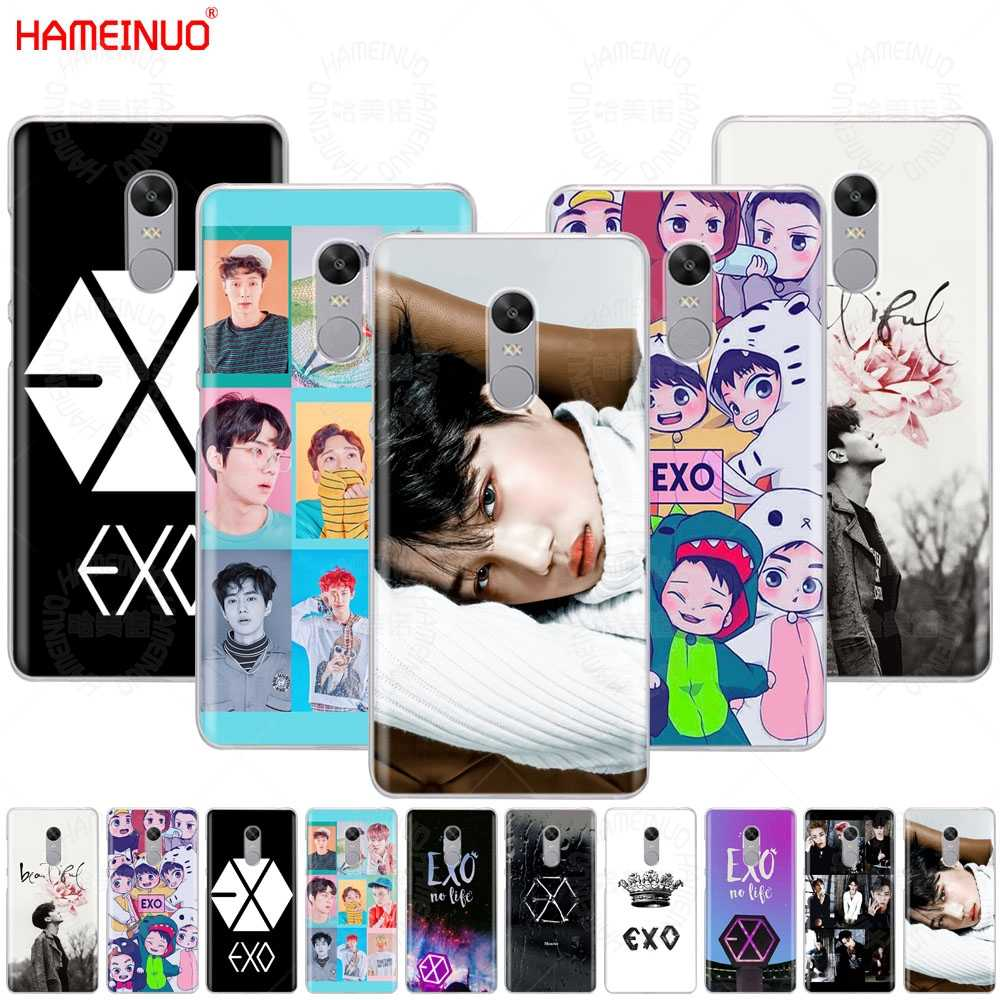 HAMEINUO Kpop exo Lucky one Cover phone  Case for Xiaomi redmi 5 4 1 1s 2 3 3s pro PLUS redmi note 4 4X 4A 5A