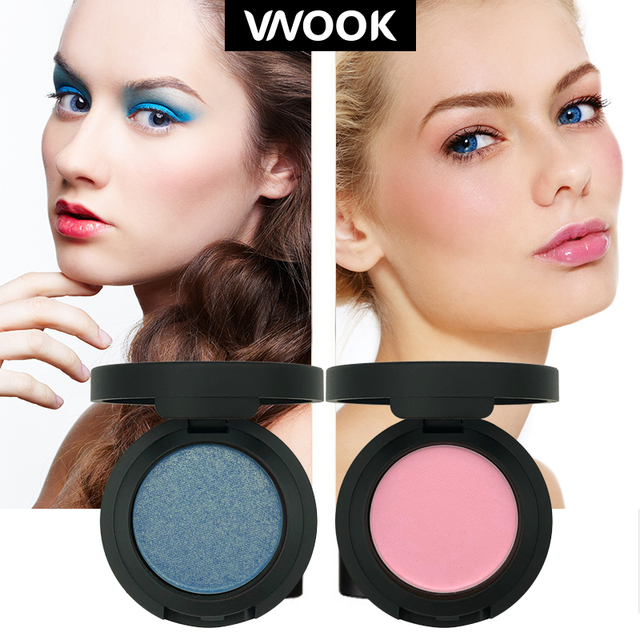 Vnook Brand Matte Eyeshadow 10 Colors Shimmer Makeup Palette Long Lasting Waterproof Nude Eye Shadow Powder Korean Cosmetic Kit