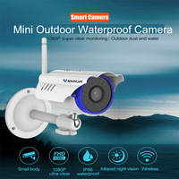 VStarcam C15S Onvif Wireless IP Camera Waterproof Bullet Surveillance Camera Wi Fi Ntework Outdoor Camera Full