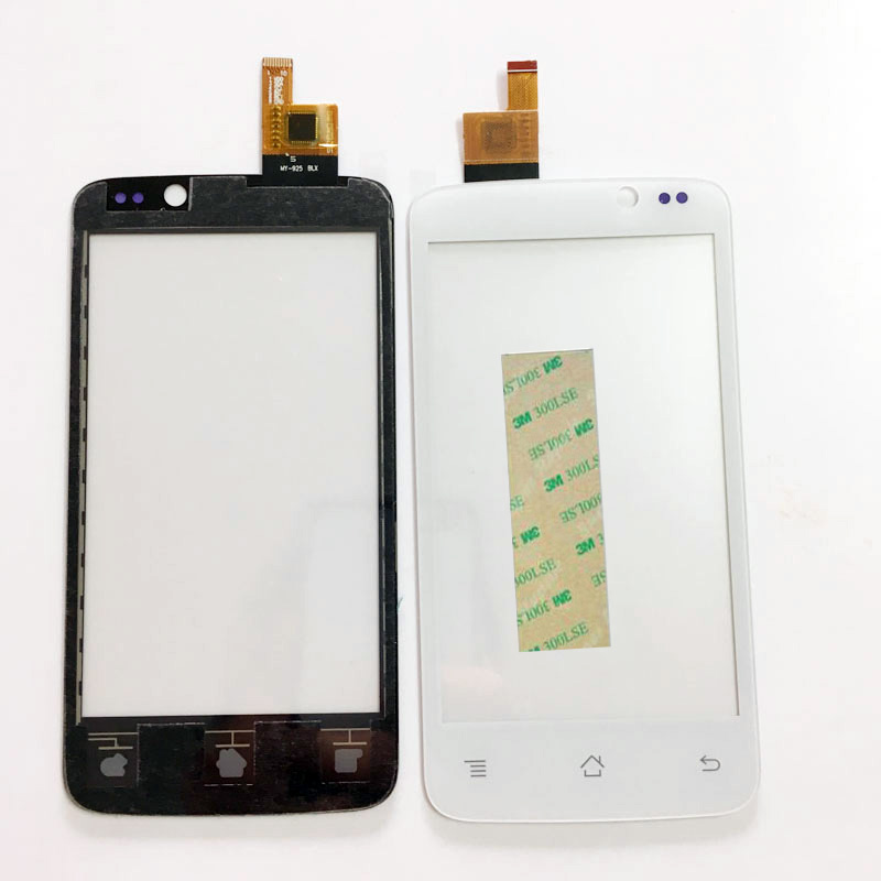 4.0 Tested Cell Phone Touch Screen For Fly IQ447 IQ 447 ERA Life1 Sensor Touchscreen Front Panel Digitizer Glass+3M Sticker