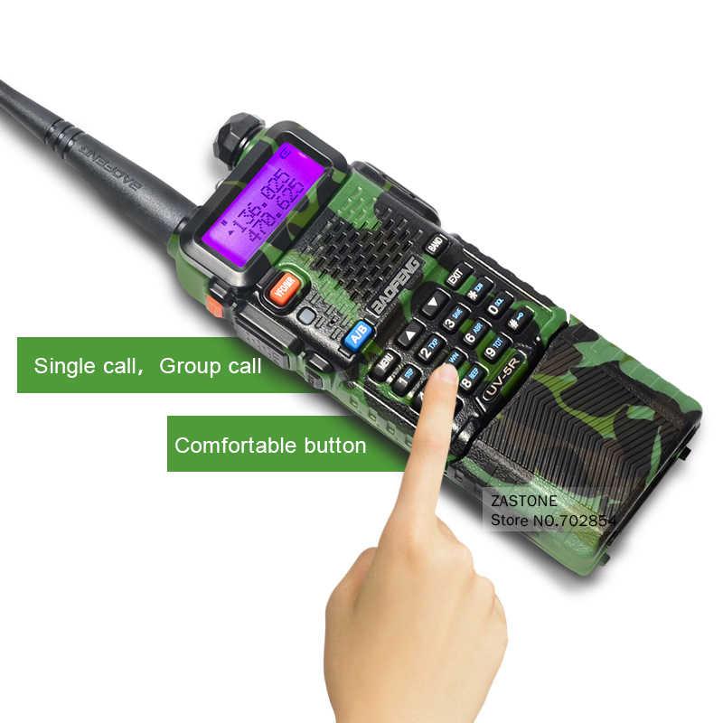 Baofeng UV-5R камуфляж обновление двухстороннее радио УКВ УВЧ рация 3800 мАч рация На Батарейках Портативный радиоприемник