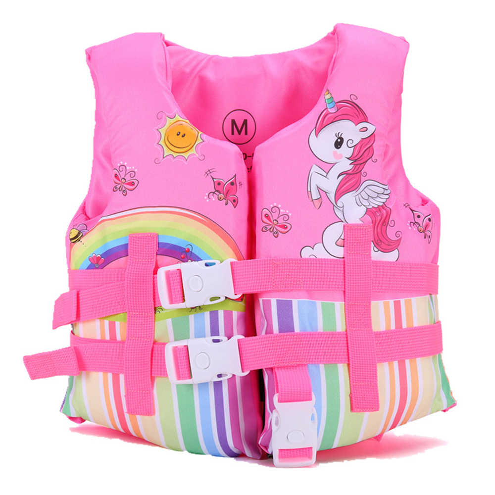 Water Sports Life Vest For Kids Children Swimming Kayak Life Vest Jackets  Boy & Girl Water Sports Safety Equipment for Drifting