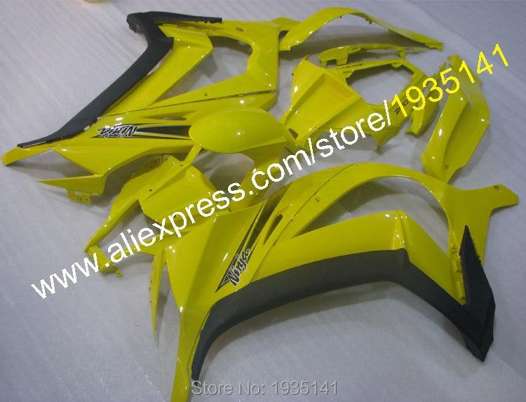 Горячие продаж,для Kawasaki ниндзя ZX10R 11-15 на ZX 10r с на ZX-10r с 2011 2012 2013 2014 2015 популярные желтый цвет задняя часть Обтекателя (литье под давлением)