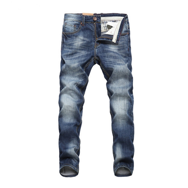 Male Long Trousers 32 33 34 36 38 40 Men Jeans Design Biker Jeans Strech Casual Jean For Men Hight Quality Cotton Fashion Jeans