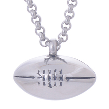 Rugby Urn Necklace