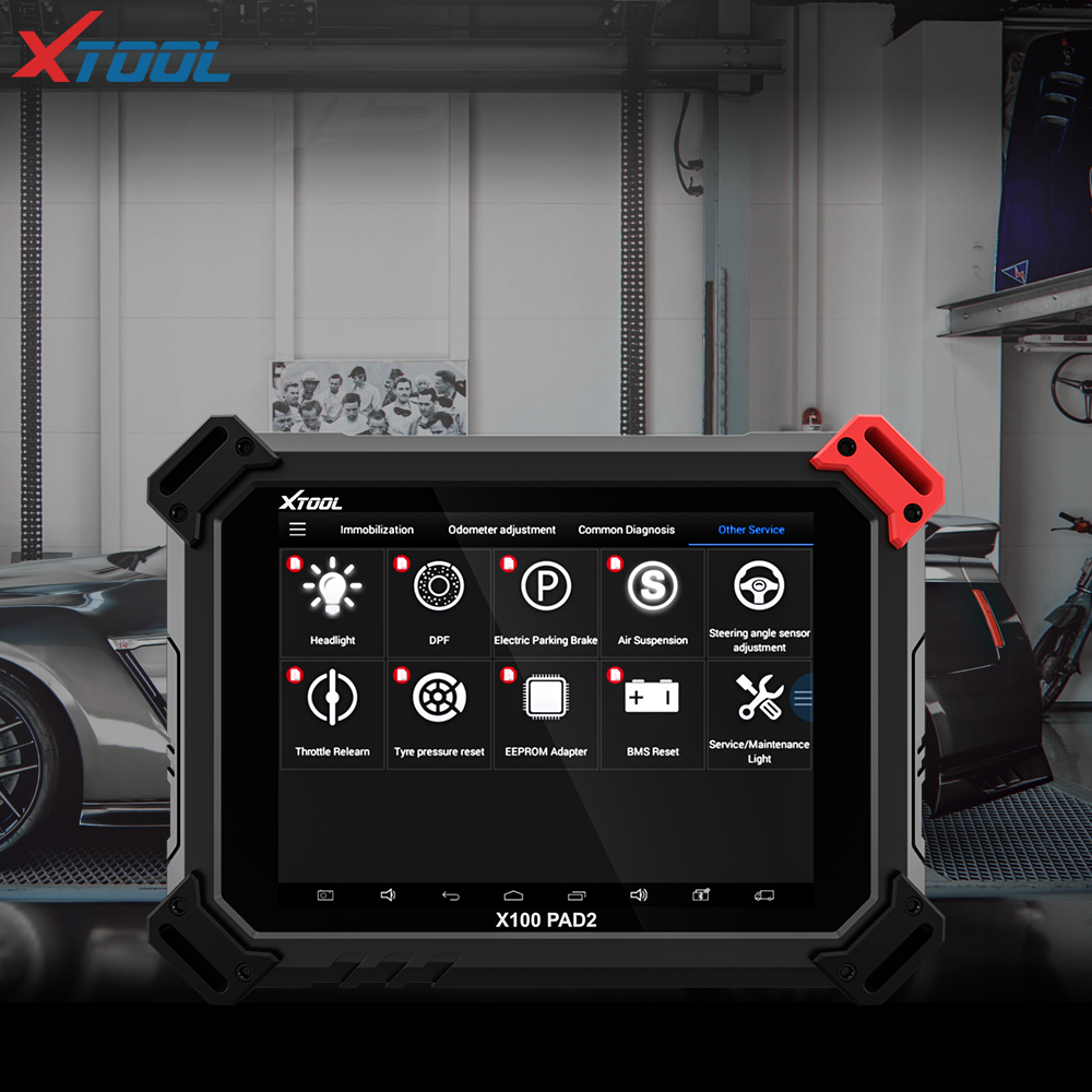 2018 XTOOL X100 PAD2 OBD2 Auto Key Programmer Odometer Correction Tool Code Reader Car Diagnostic tool