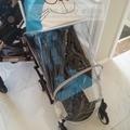 Cochecito cubierta Para la Lluvia para yoyo, yoya, babythrone, kissbaby marca. silla de ruedas cubierta de detener la lluvia