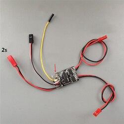 1PC 1.8AX2 podwójny dwukierunkowy szczotkowany ESC 2S Lipo prędkość ESC kontroler dla 1:35 DIY 4WD samochody/zbiorniki/łodzie części zamienne|Części i akcesoria|Zabawki i hobby -