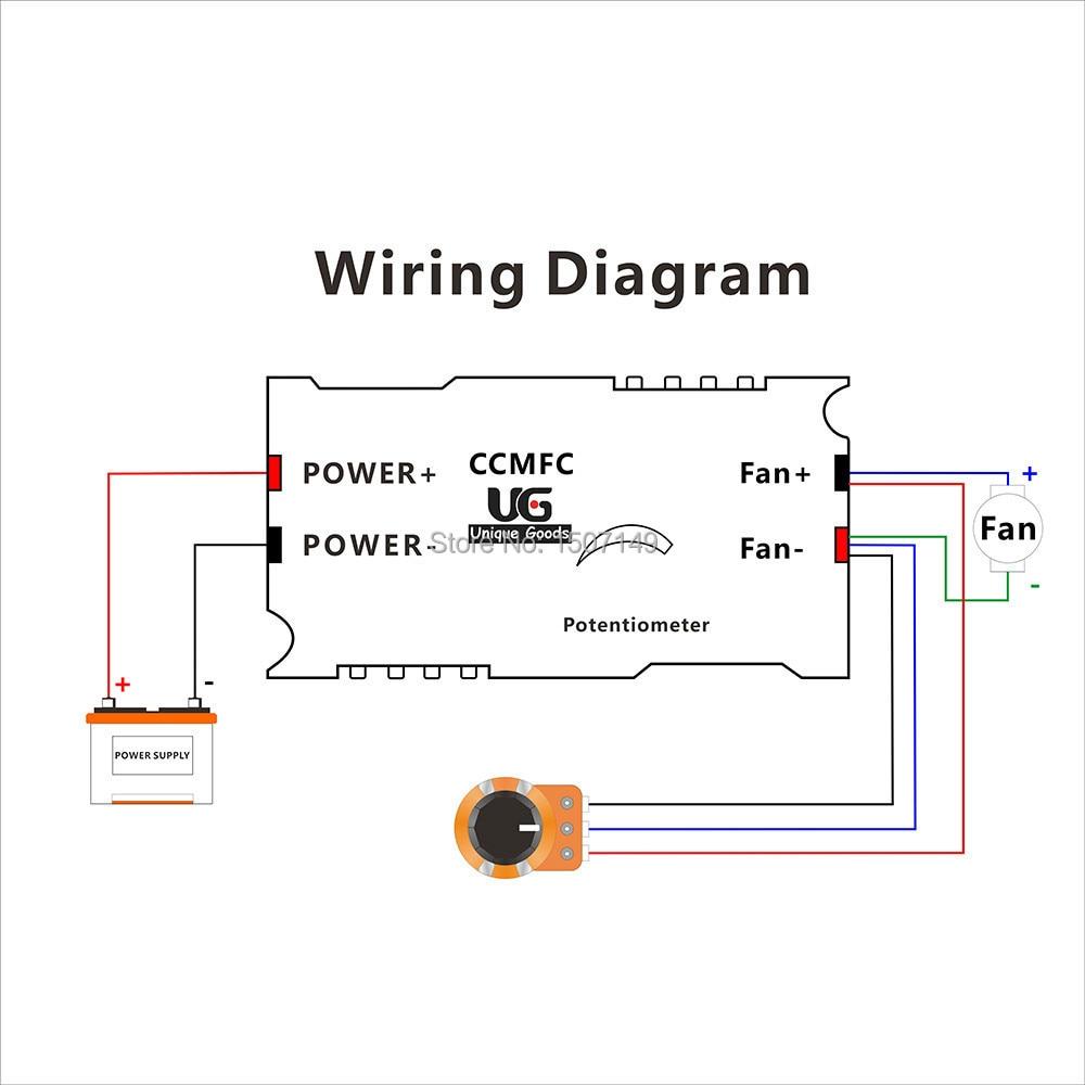 medium resolution of potentiometer wiring diagram fan