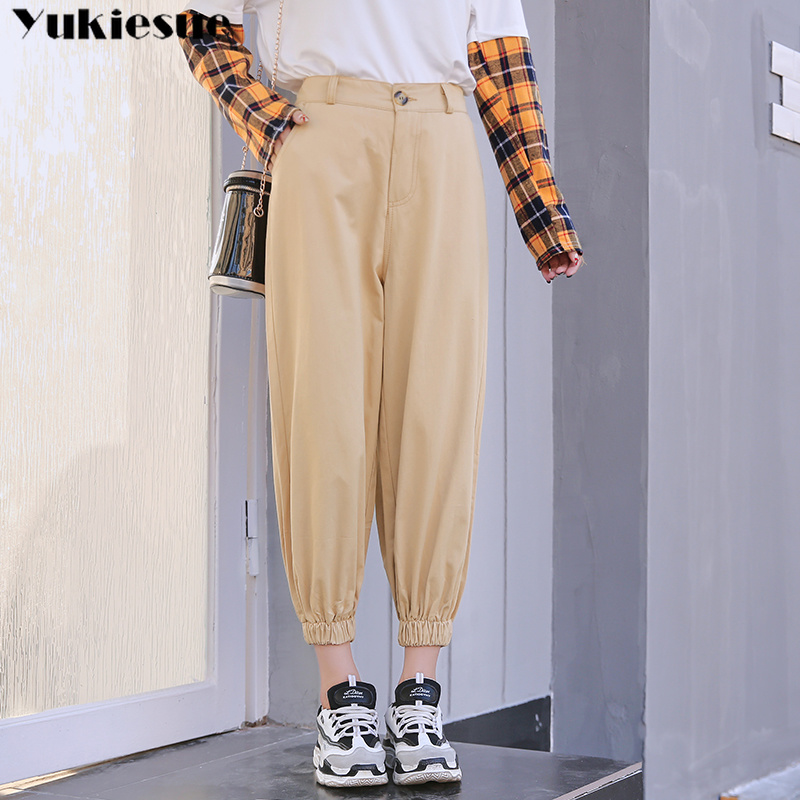 streetwear women's   pants     capris   with high waist harem   pants     capris   for women trousers woman   pants   female Plus size 5XL
