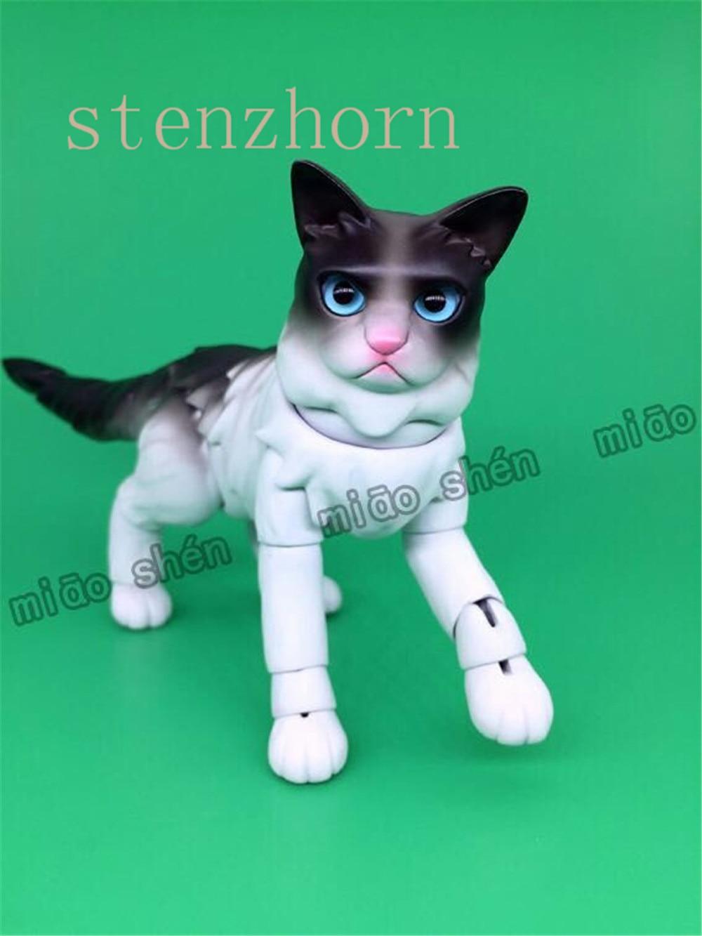 StenzhornFashion original bjddoll gato de alta calidad hecho en casa muñeca ojos libres-in Muñecas from Juguetes y pasatiempos    2