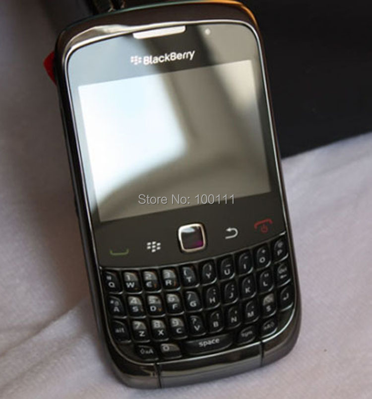 Original blackberry curve 9300 phone with qwerty keyboard for Housse blackberry curve 9300